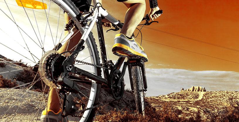 Förbered dig för att börja cykla MTB